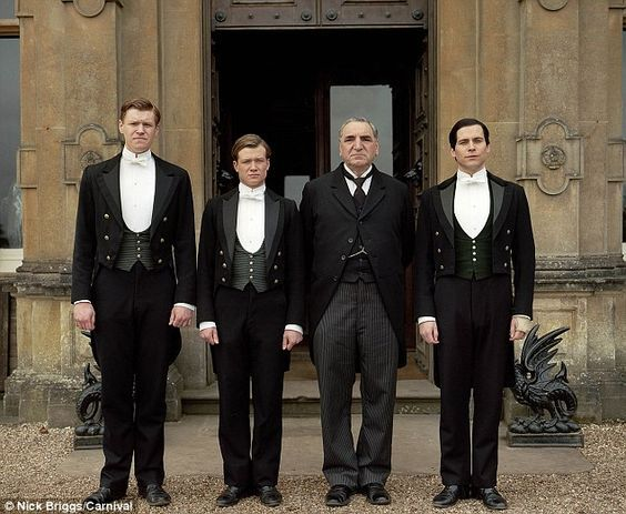 downton butlers