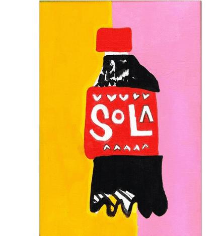 polyester artista uruguaya