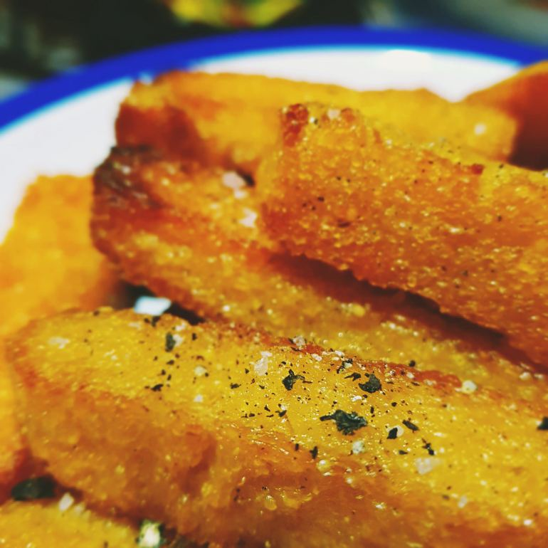 hardly more than ever baked polenta fries