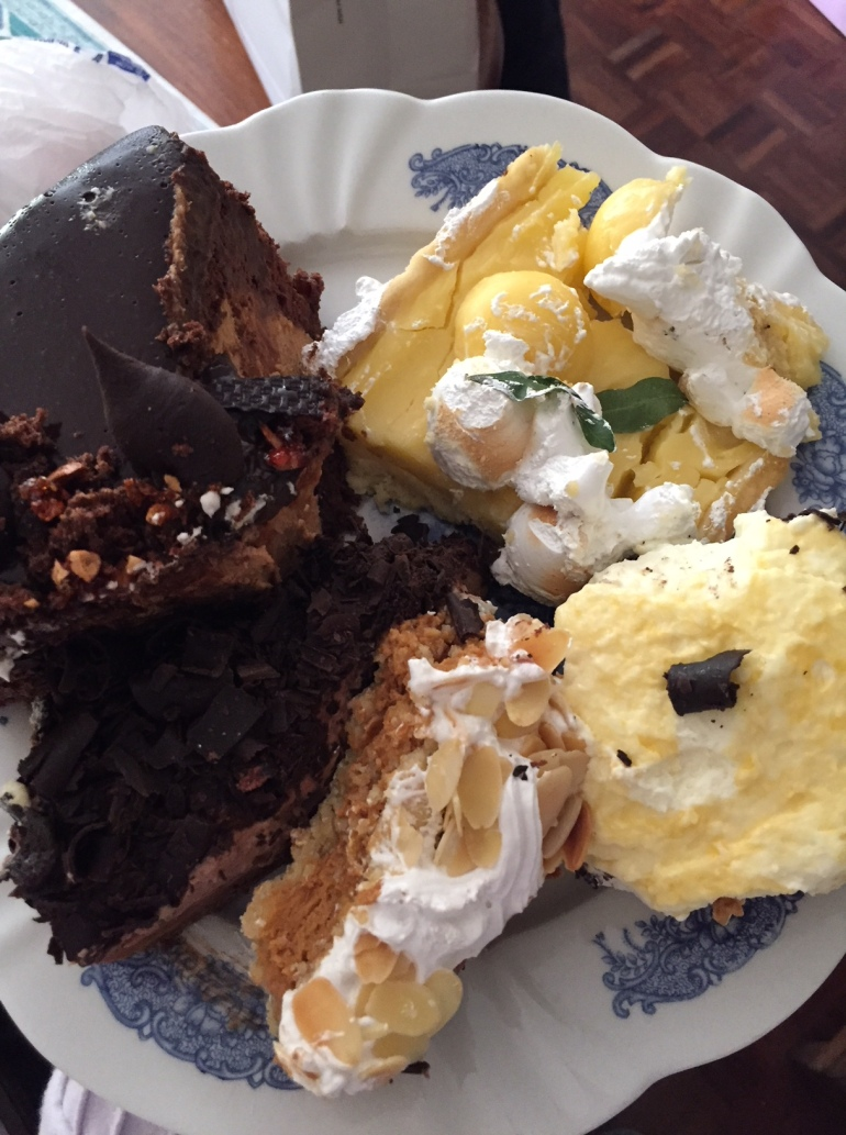 leftover cake
